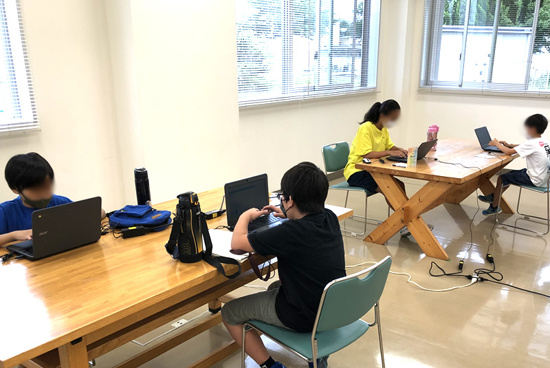 8月8日滑川・嵐山教室プログラミング教室