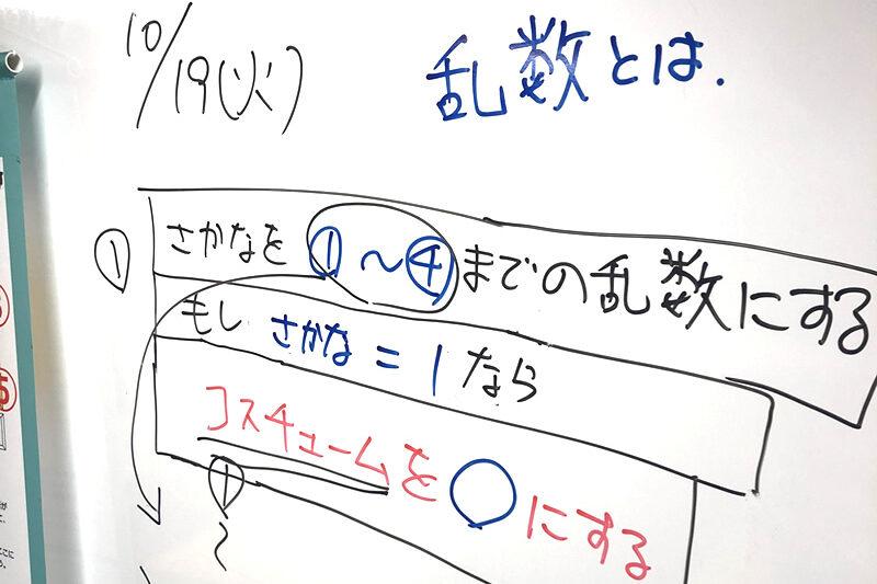 10月19日クレオスタディ伊奈プログラミング教室