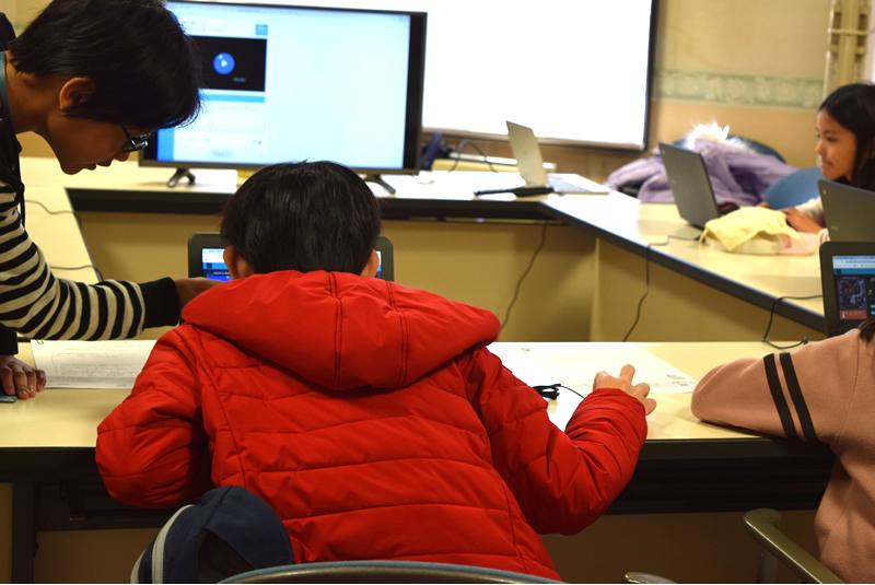 プログラミング体験会最終日の様子2