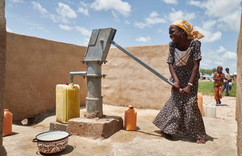 貧困地域の水問題の解消