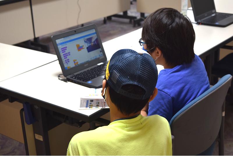 8月8日プログラミング教室