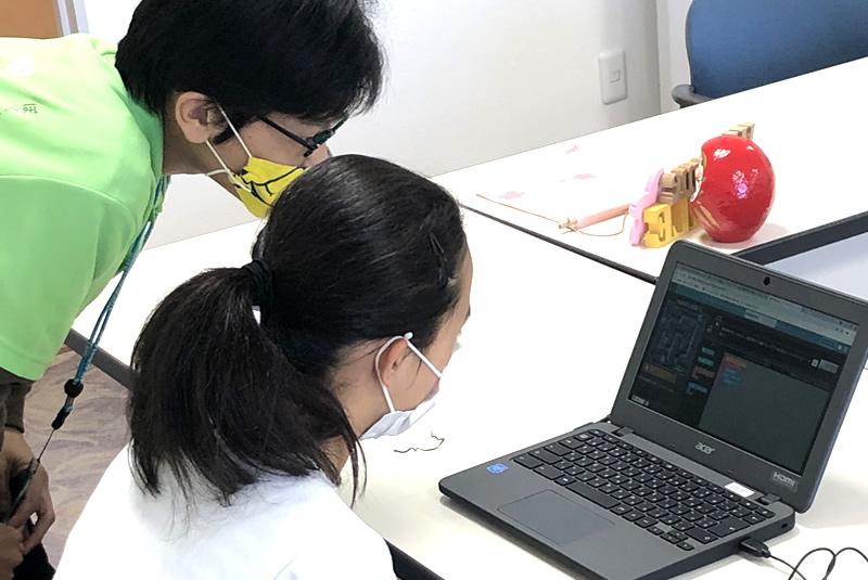 4月24日滑川・嵐山教室プログラミング教室