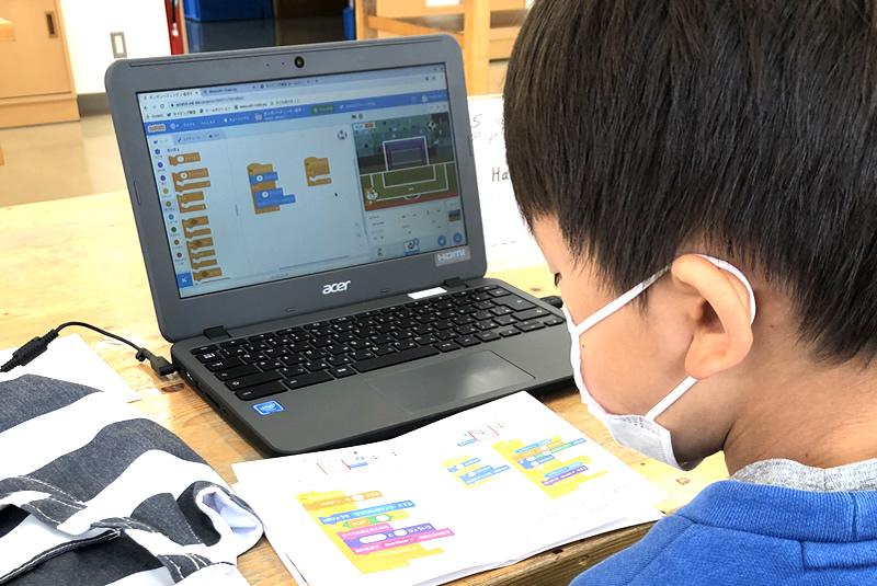 4月25日滑川・嵐山教室プログラミング教室