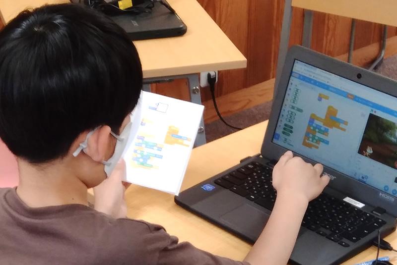 4月27日クレオスタディ伊奈プログラミング教室
