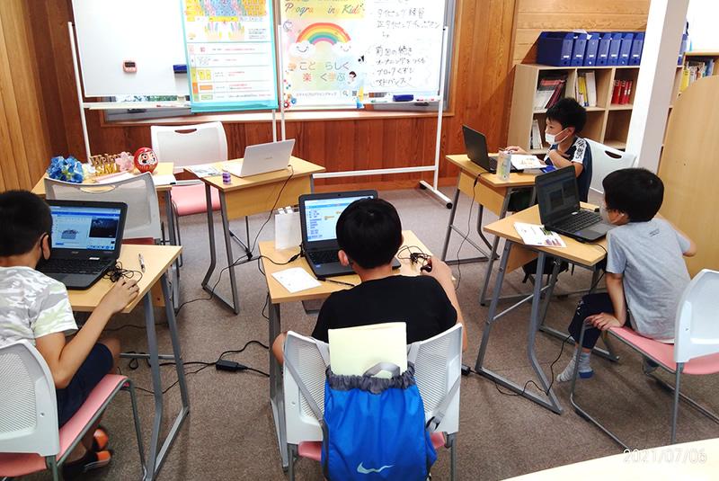 7月6日クレオスタディ伊奈プログラミング教室