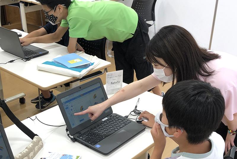 8月7日滑川・嵐山教室プログラミング教室