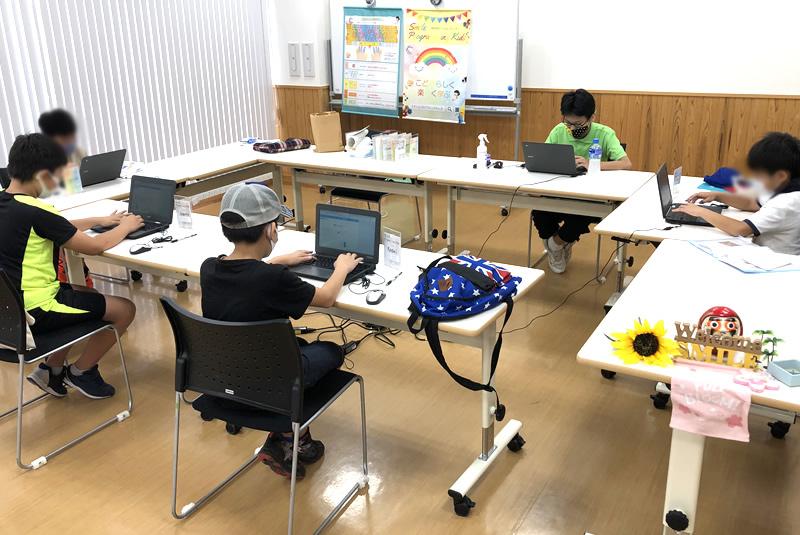 8月21日東松山プログラミング教室