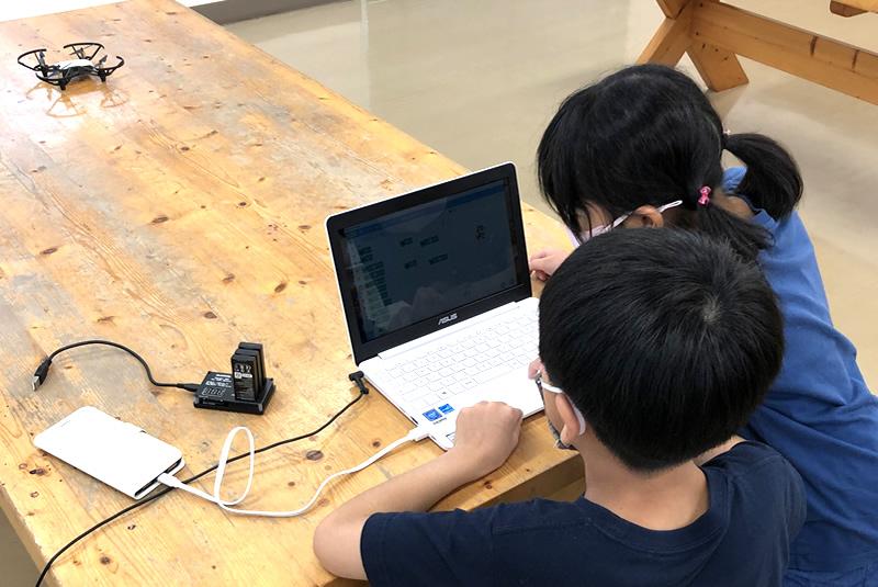 8月29日滑川・嵐山教室プログラミング教室