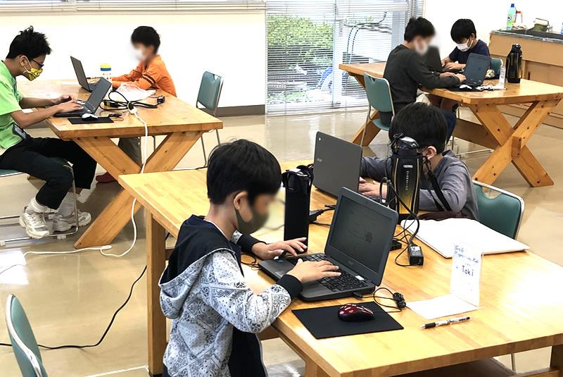 9月26日滑川・嵐山教室プログラミング教室