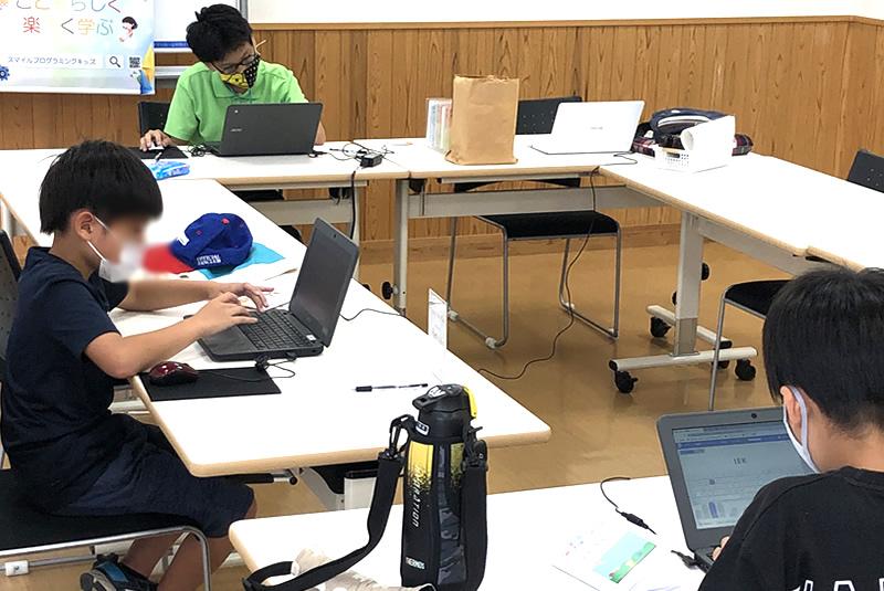 9月25日東松山教室プログラミング教室