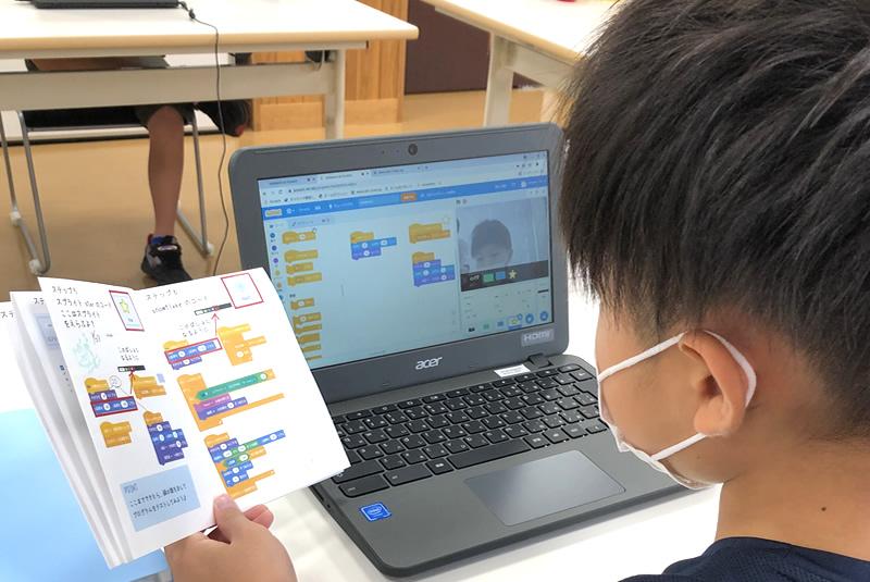 9月4日東松山教室プログラミング教室