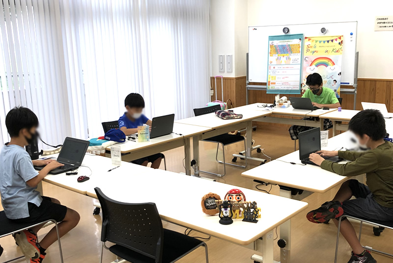 9月11日東松山教室プログラミング教室