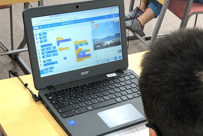 9月21日プログラミング教室