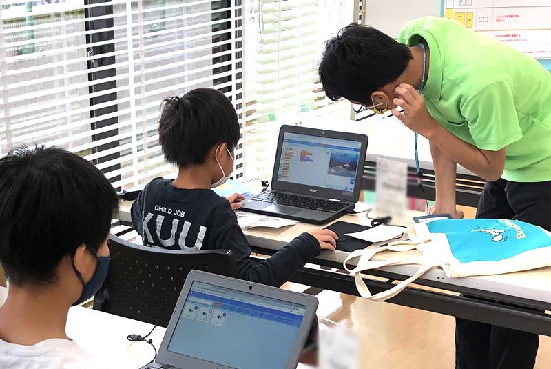 10月9日東松山教室プログラミング教室